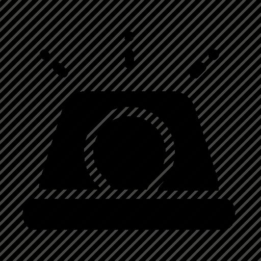 Danger, siren, alert, attention, caution, error, warning icon - Download on Iconfinder