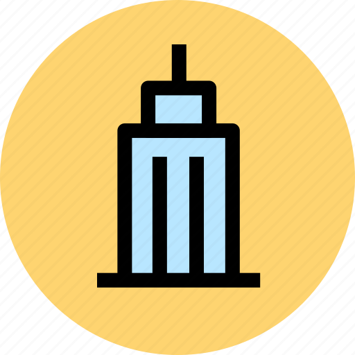 building, business, construction, estate, office, property icon