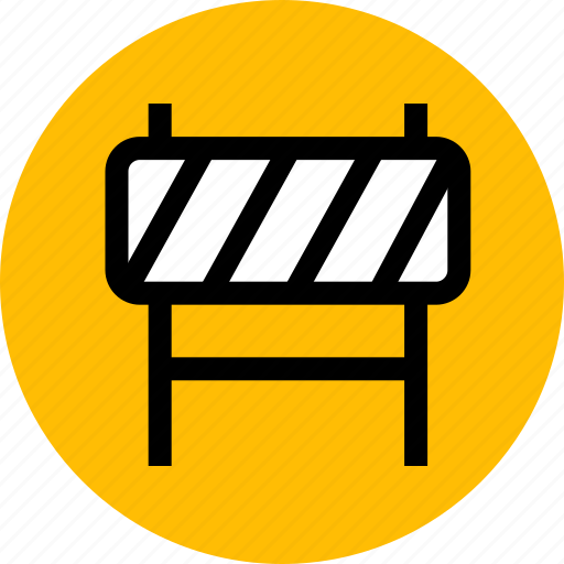 barrier, construction, repair icon
