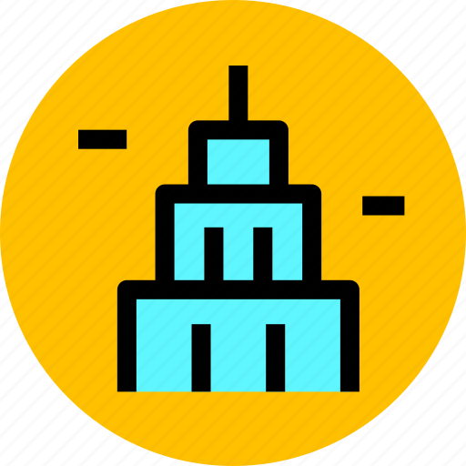 apartment, building, city, construction, estate, house, property icon