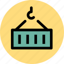 building, cargo, construction, goods icon