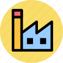 building, factory, house icon