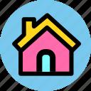 construction, estate, home, house icon