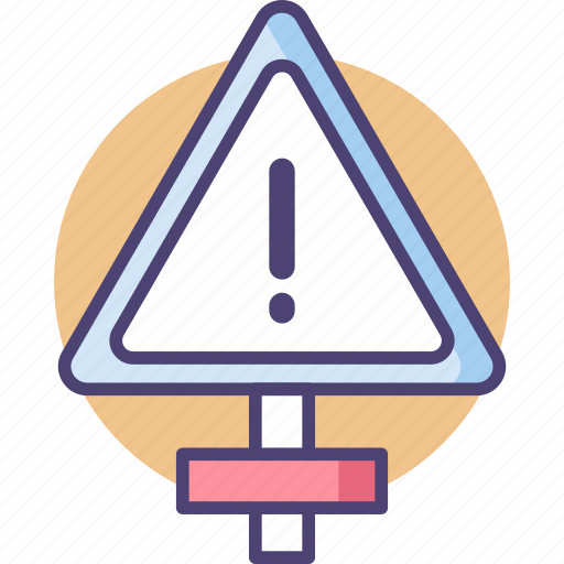Alert, be careful, danger, exclamation, warning icon - Download on Iconfinder