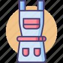 apron, construction, construction apron icon