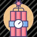bomb, c4, dynamite, explosive icon