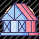 framing, house frame icon