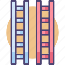 ladder, ladders icon