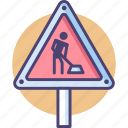 construction, under, under construction icon