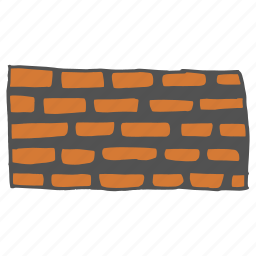 architecture, bricks, building, cement, construction, real estate, wall icon