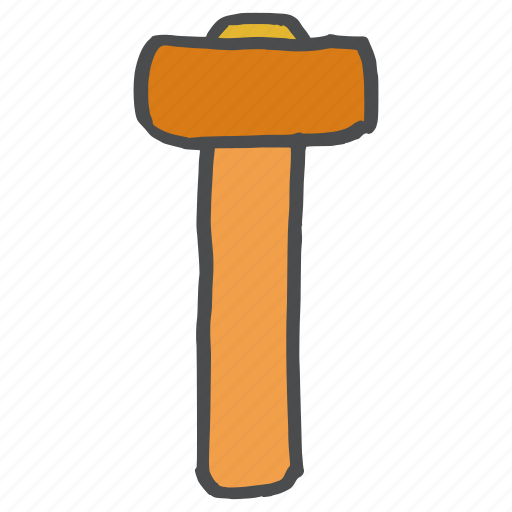 carpentry, construction, equipment, hammer, repair, tool, work icon