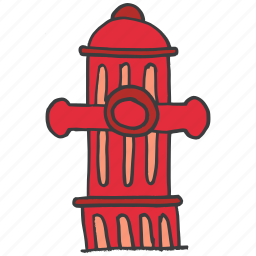 building, construction, fire, pipe, safety, valve, water icon