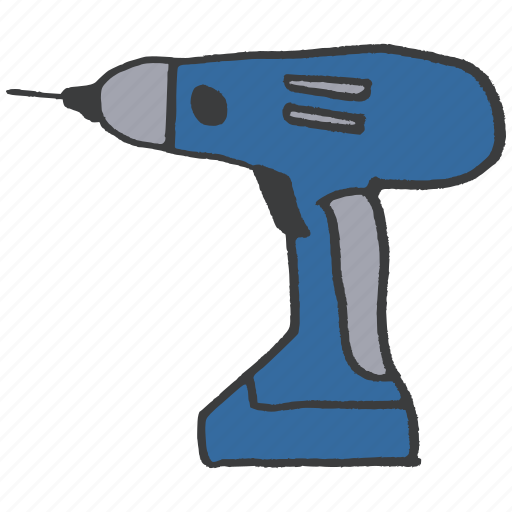 building, construction, drill, electric, equipment, plumbing, power icon