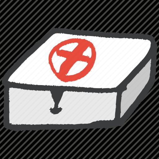 aid, box, emergeny, first, kit, medical, medicine icon
