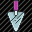 cement, construction, equipment, knife, maintenance, tool