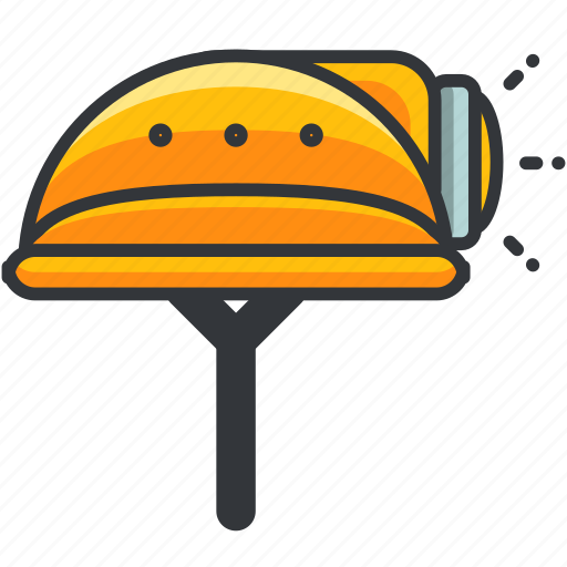 construction, helmet, maintenance, safety, tool icon