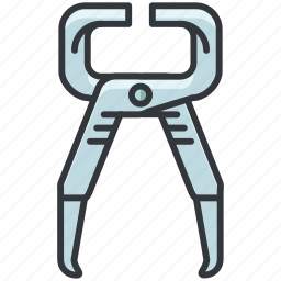 construction, maintenance, pliers, tool, tools icon