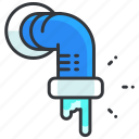 build, construction, pipe, plumbing, tool icon