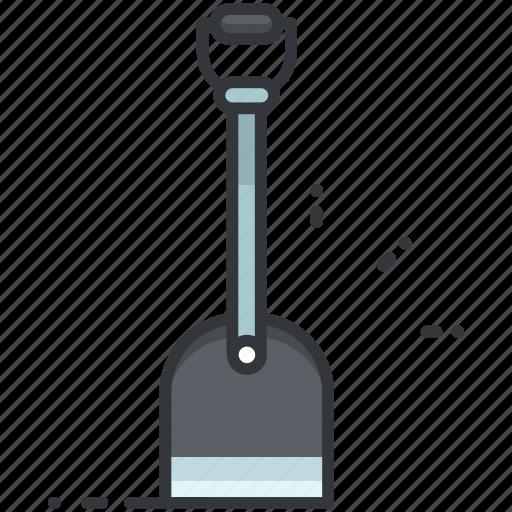 construction, dig, maintenance, shovel, tool icon