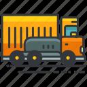 construction, maintenance, transport, transportation, truck