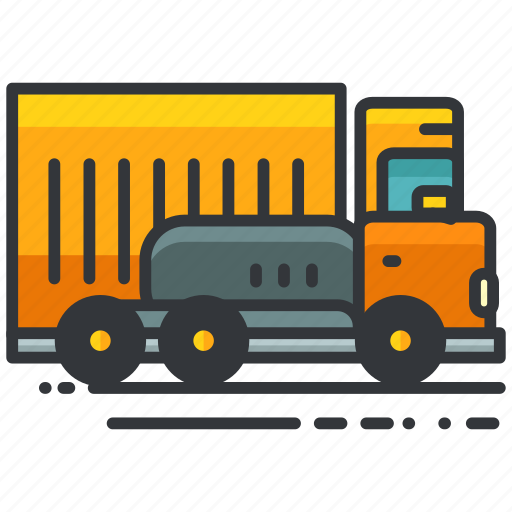 construction, maintenance, transport, transportation, truck icon