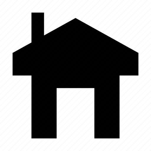 building, estate, home, house, hut, real icon