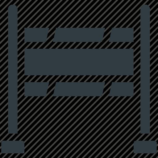 Barrier, construction barrier, road barrier, street barrier, traffic barrier icon - Download on Iconfinder