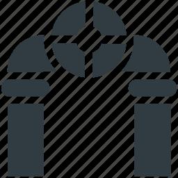 gas tap, nal, plumbing, spigot, water nal icon