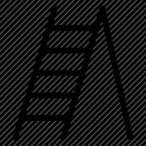 careerladder, climb, ladder, stairs icon