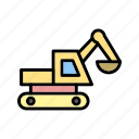 construction, drill, drilling, machine icon