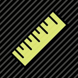 geometry, measure, measurement, ruler, tools icon
