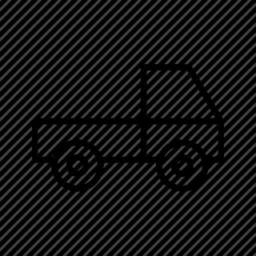 delivery, loader, truck, van icon