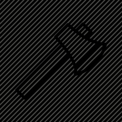 axe, cutting, hatchet, lumberjack icon