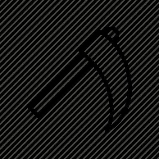 farming, scythe, tool icon