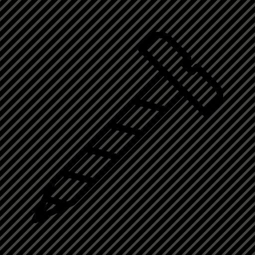 driver, hardware, repair, screw, tool icon