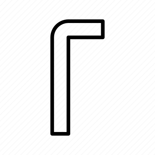 allen, tool, work, wrench icon