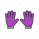 glove, gloves, winter icon