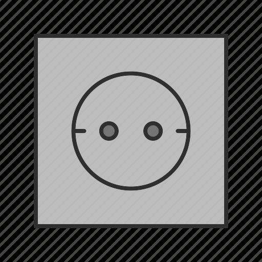 Socket, electric, plug icon - Download on Iconfinder
