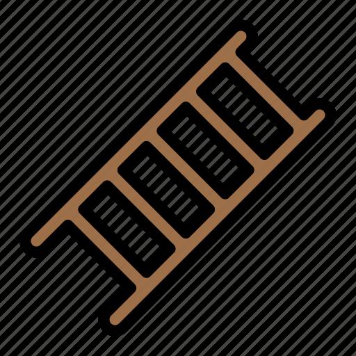 ladder, stairs, stepladder icon