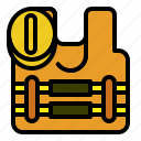 equipment, protection, safety icon