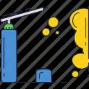 building, construction, foam, repair icon