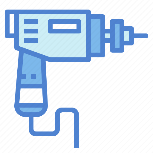Construction, drill, machine, tool icon - Download on Iconfinder
