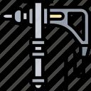 drill, electric, screw, mechanic, construction