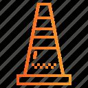 bollards, cone, construction, traffic