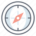 compass, directional instrument, geography, gps, navigation compass, safari icon