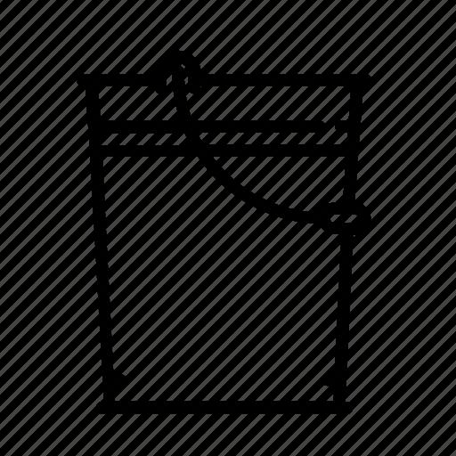 bucket, build, paint, repair, tool icon
