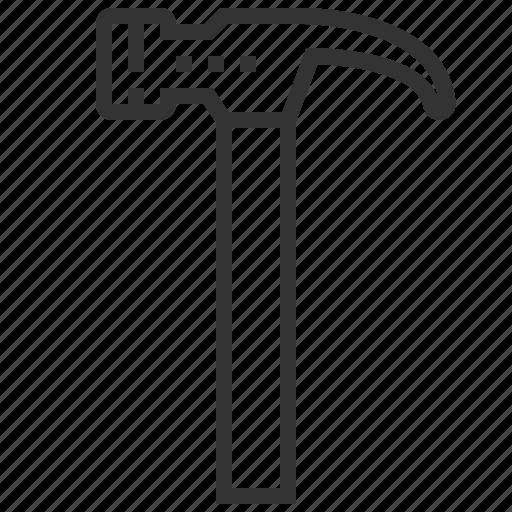 carpenter, construction, engineering, equipment, hammer, tools icon