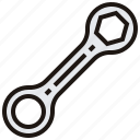 maintenance, service, spanner, tool, wrench icon