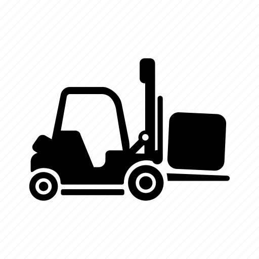 forklift, lift, pack, transport, warehouse, wares icon