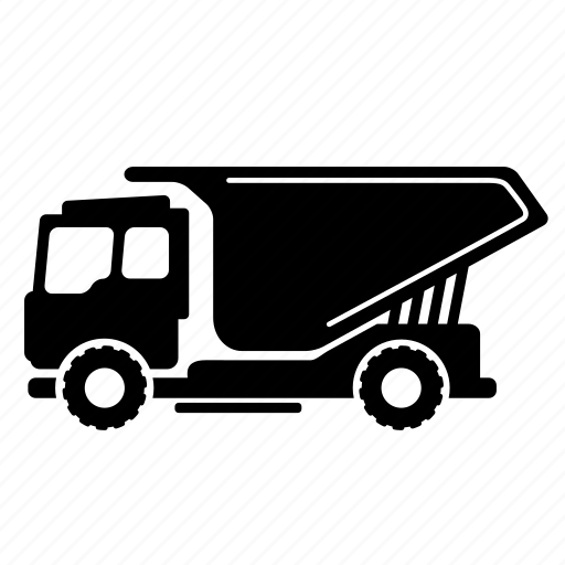 construction, lorry, transport, trolley, truck, vehicle, wheels icon